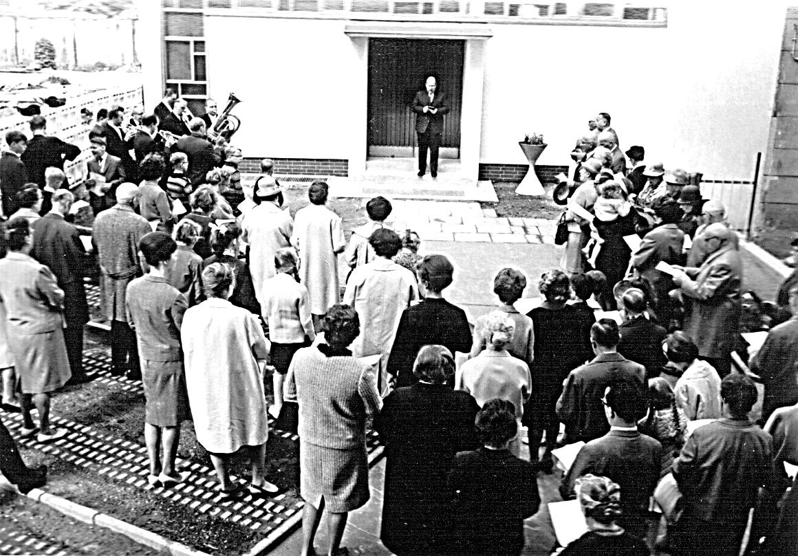Einweihung neues Gemeindehaus 1966